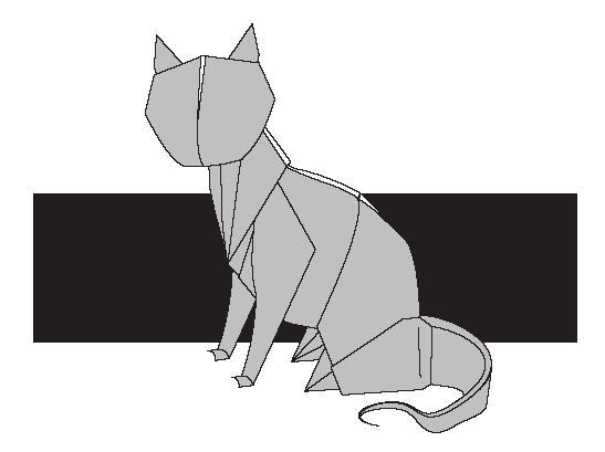 Оригами из бумаги - Схемы оригами - Головные уборы (Кот) .